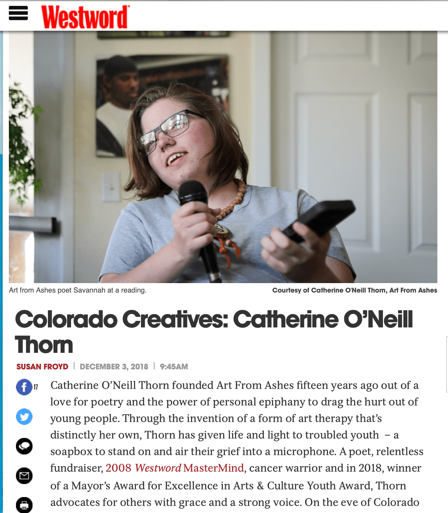 2018 Westword Article