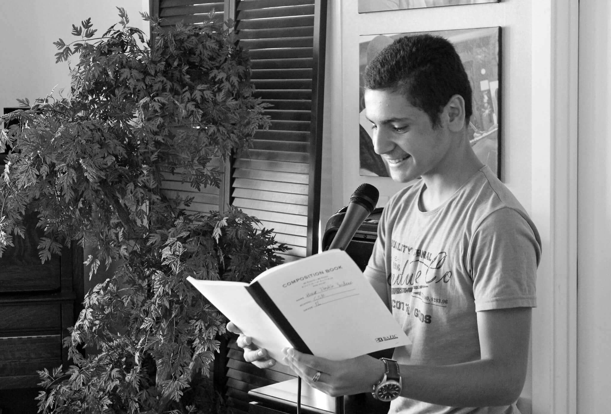 Youth Reading from 2018-Iraqi Youth Delgation