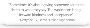 Testimonial from Destynee, Denver Online High School
