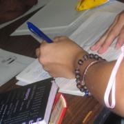 Maria's hand writing
