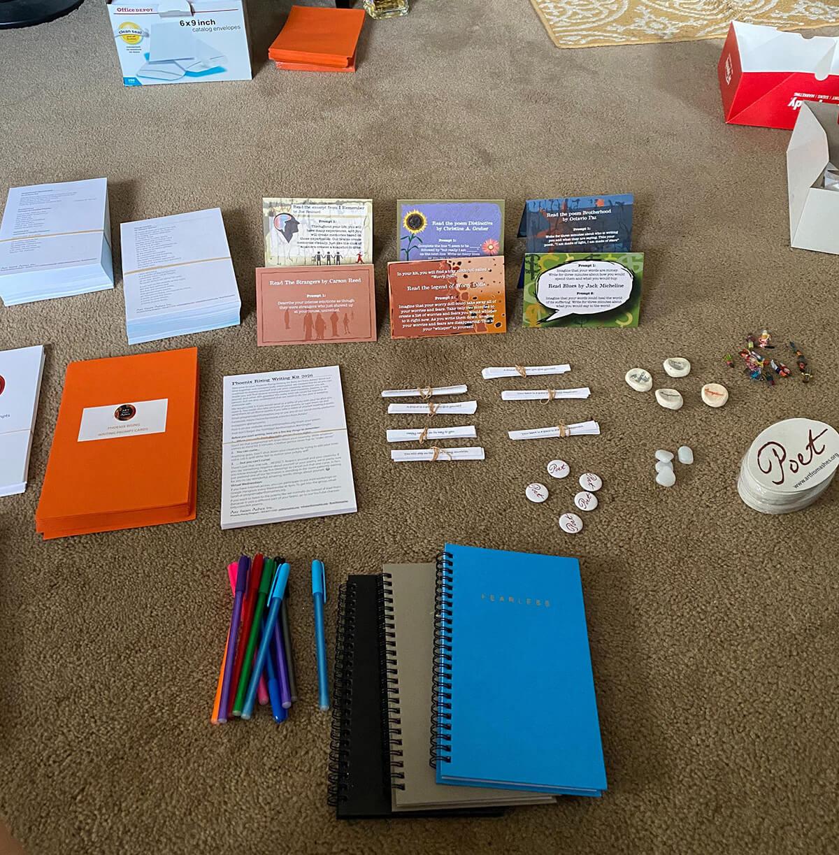 Writing kit prep